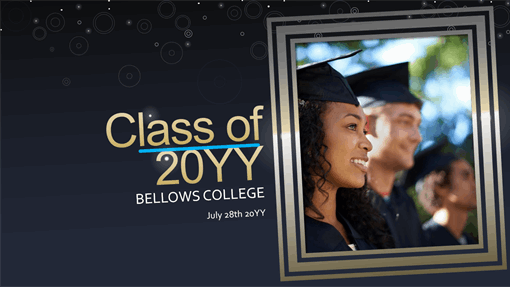 Life celebration: graduation