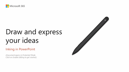 PowerPoint Surface Pen tutorial