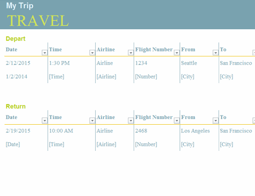 Trip Planner