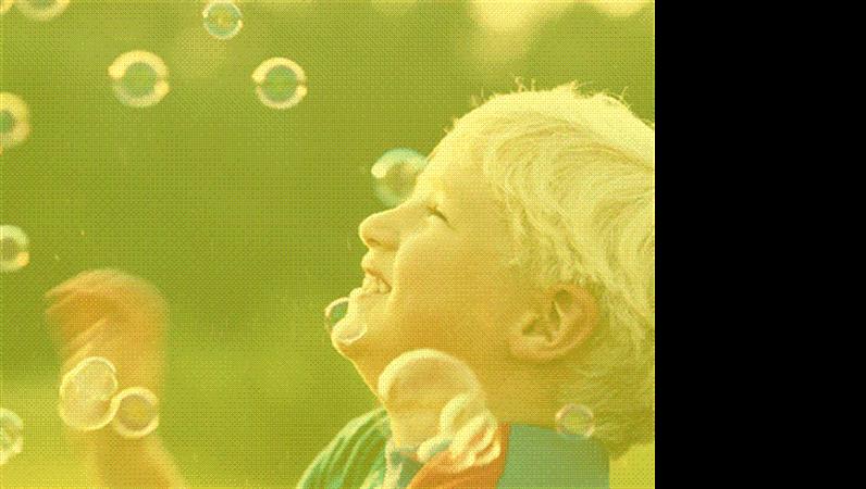 Plantilla de diseño de chico con bocadillos