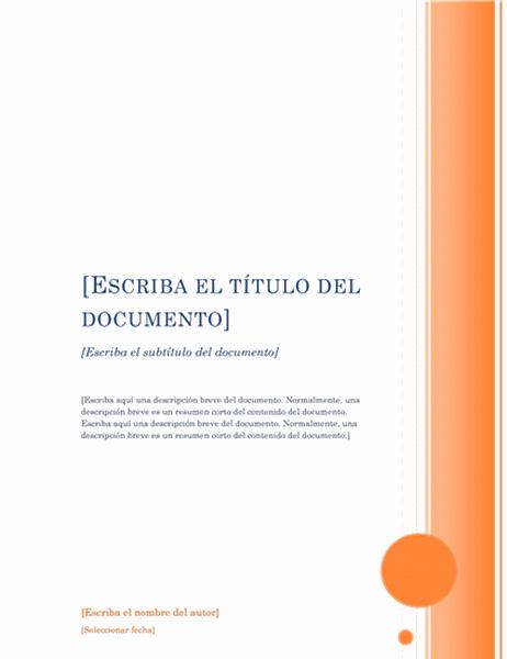 Informe (tema Mirador)