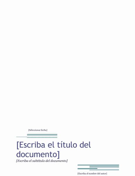 Informe (tema Urbano)