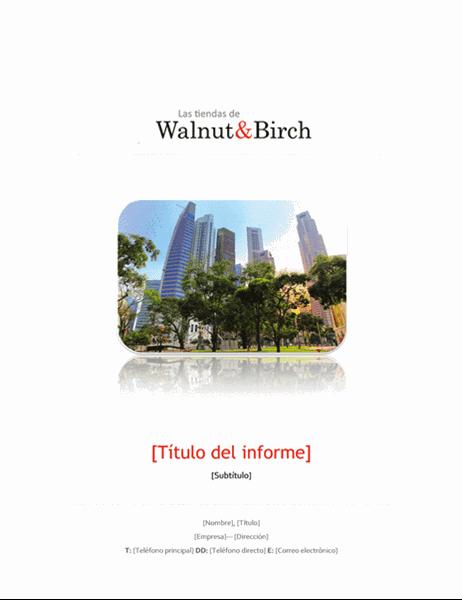 Informe empresarial (6 páginas)