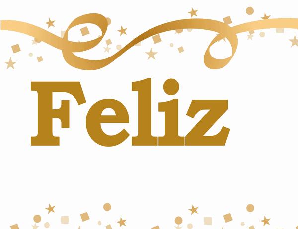 Un banner de Feliz cumpleaños, (nombre)