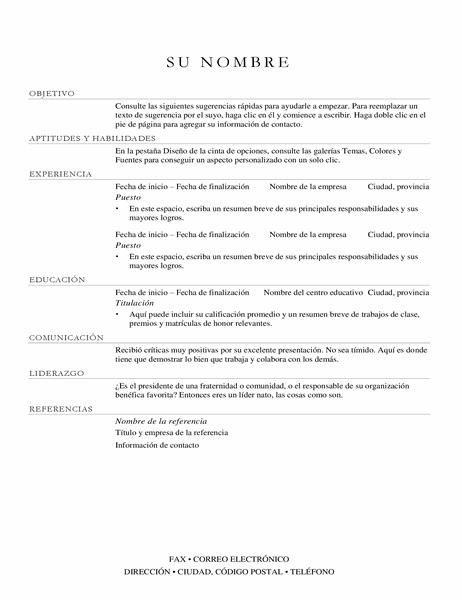Currículum vítae de Director de ventas (elegante)