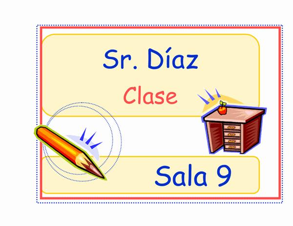 Símbolo de clase (primaria)