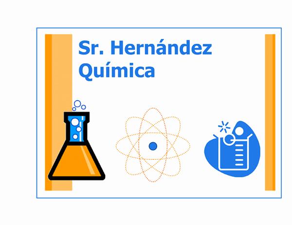 Símbolo de clase (química)