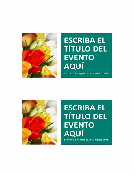 Postales de evento