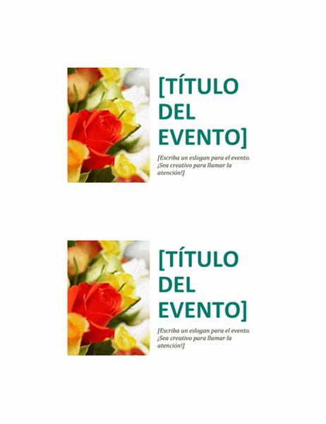Postal de eventos