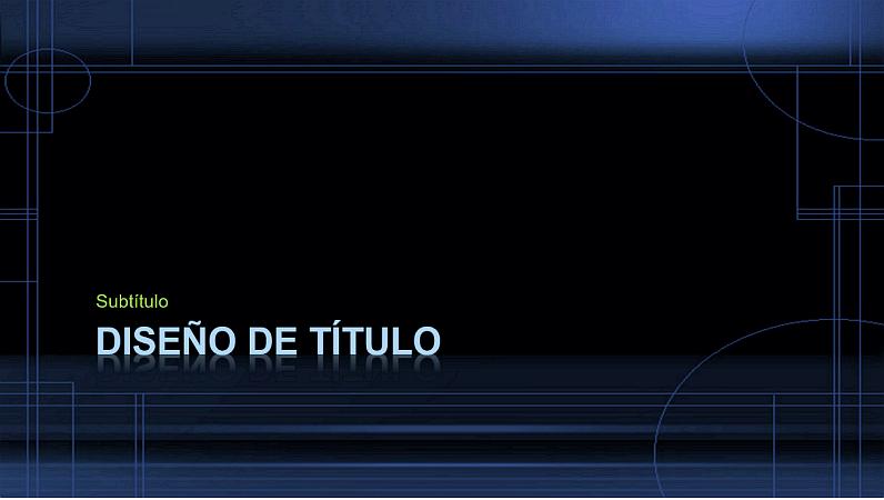 Diapositivas de diseño Caída de la noche
