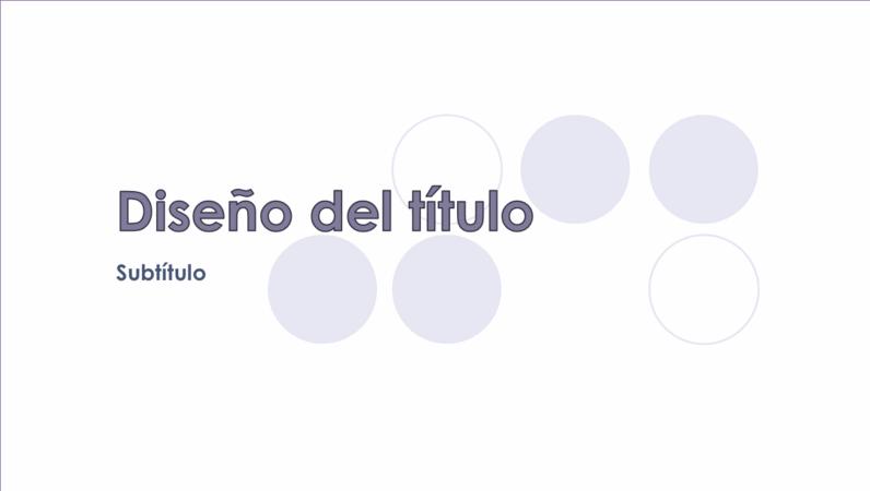 Diapositivas de diseño de marca de agua