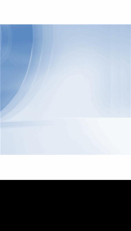 Plantilla de diseño azul moderno