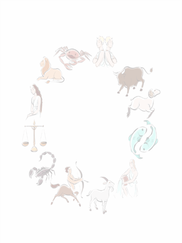 Plantilla de diseño astrológico