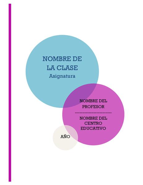 Kit de bloc de notas de informe o proyecto escolar