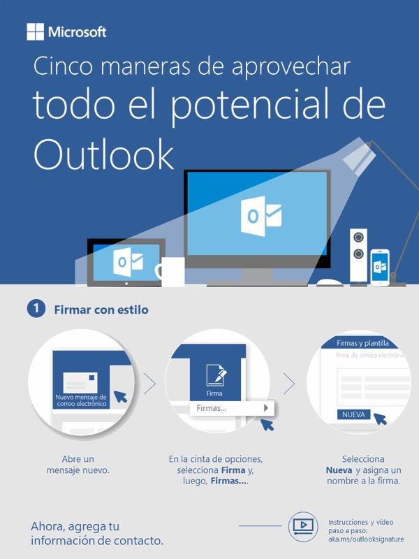 Cinco formas de hacer que Outlook trabaje para ti