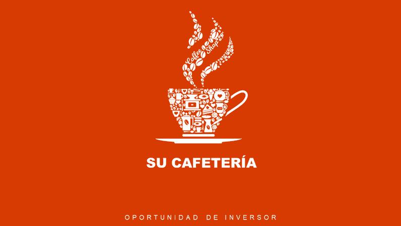 Presentación de negocios de cafetería