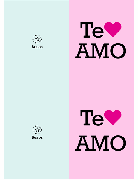 Te quiero Valentín