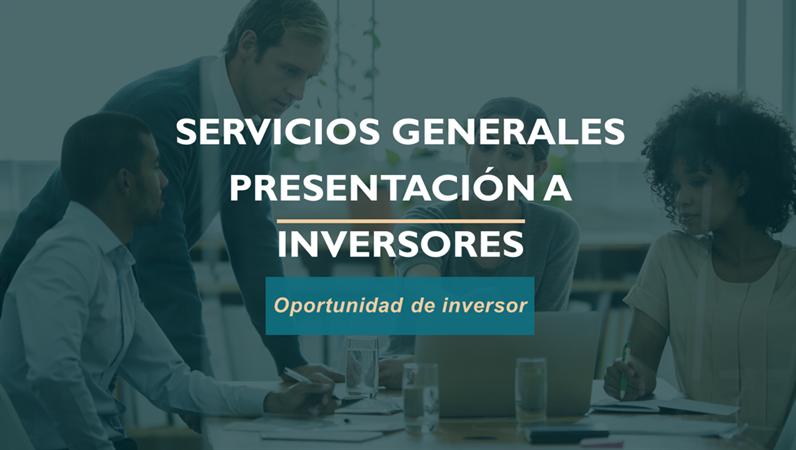 Presentación de servicios profesionales