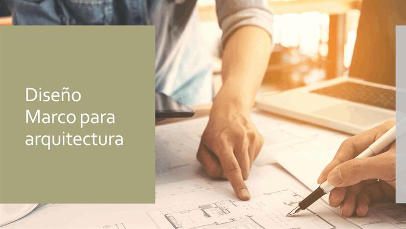 Diseño de Marco arquitectura