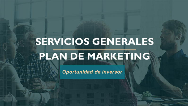 Plan de marketing de servicios profesionales