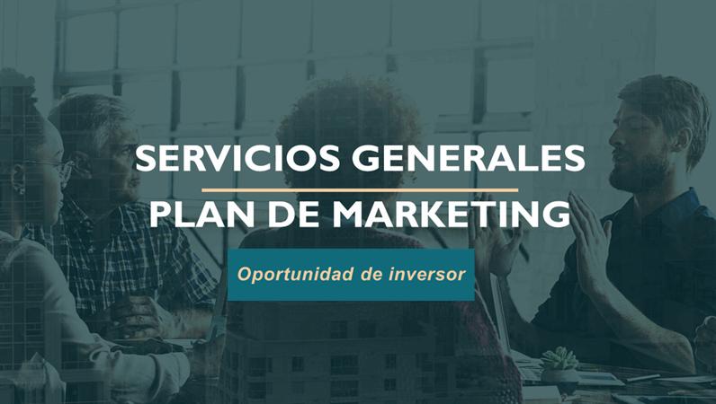 Plan de marketing de servicios profesionales