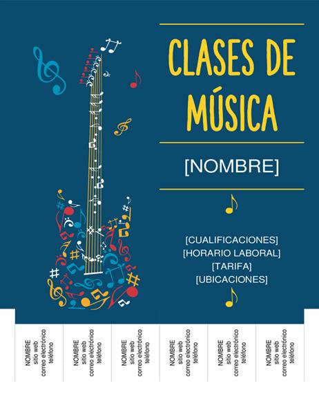 Profesor particular de música