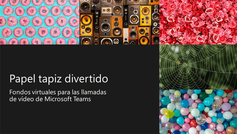 Papel tapiz para divertidos fondos virtuales de Teams