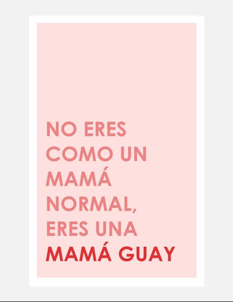 Tarjeta del Día de la Madre genial
