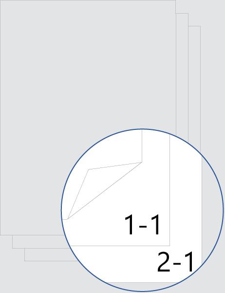 Documento con numeración de página y capítulo