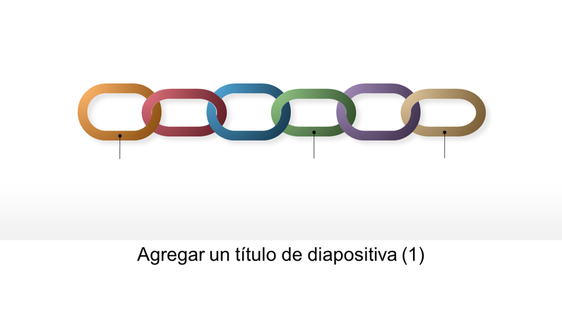 Gráficos en cadena vinculados