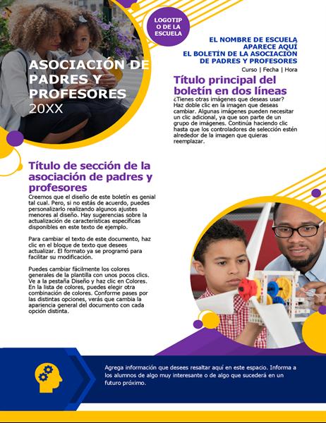 Boletín de la asociación de padres y profesores