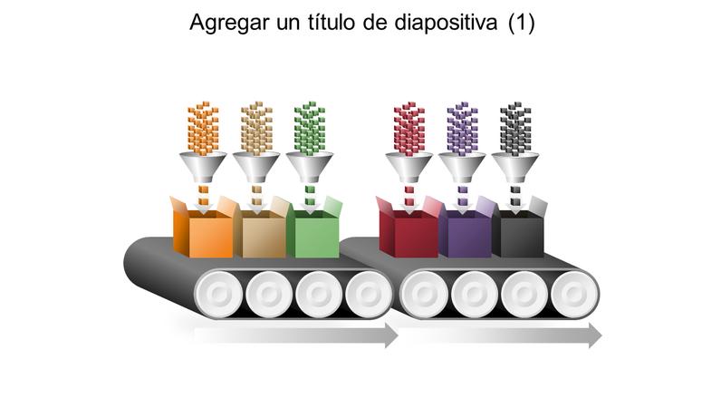Gráfico de multiproceso de cinta transportadora
