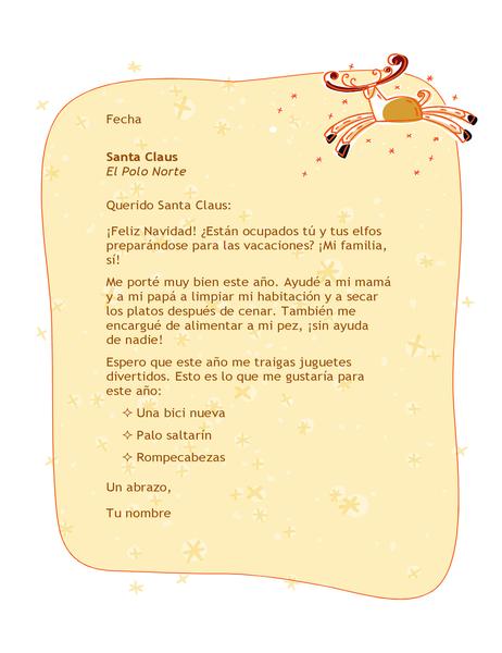 Carta para Santa