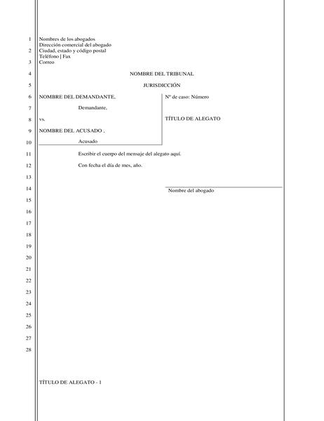 Documento jurídico (28 líneas)
