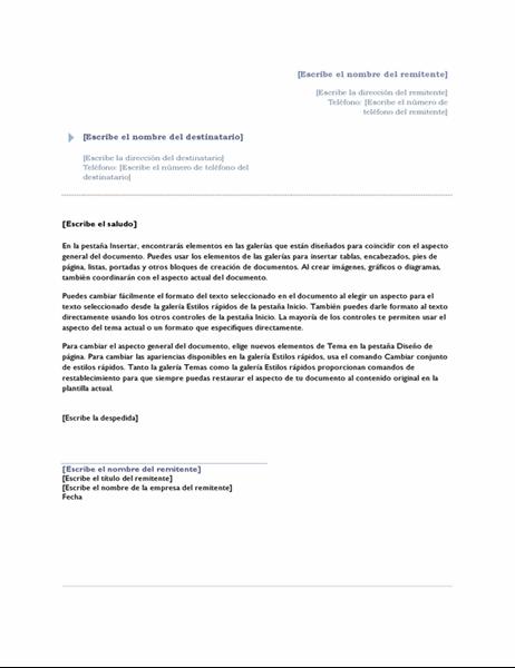 Carta (tema origen)