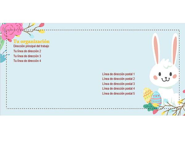 Sobre de Pascua