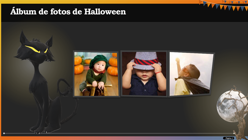 Álbum de fotos de Halloween