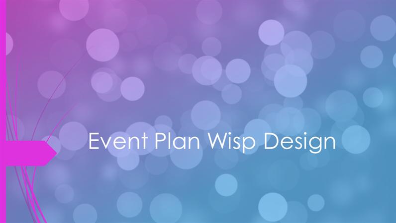 Diseño Espiral para planificación de eventos