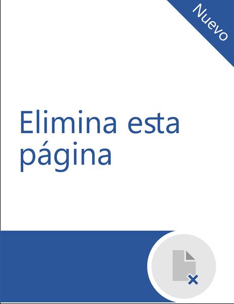 Eliminar una página en Word