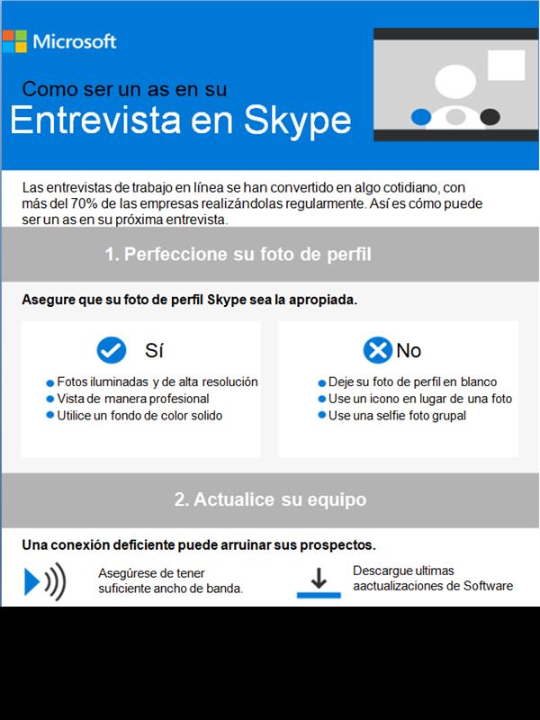Como ser un as tu entrevista de Skype