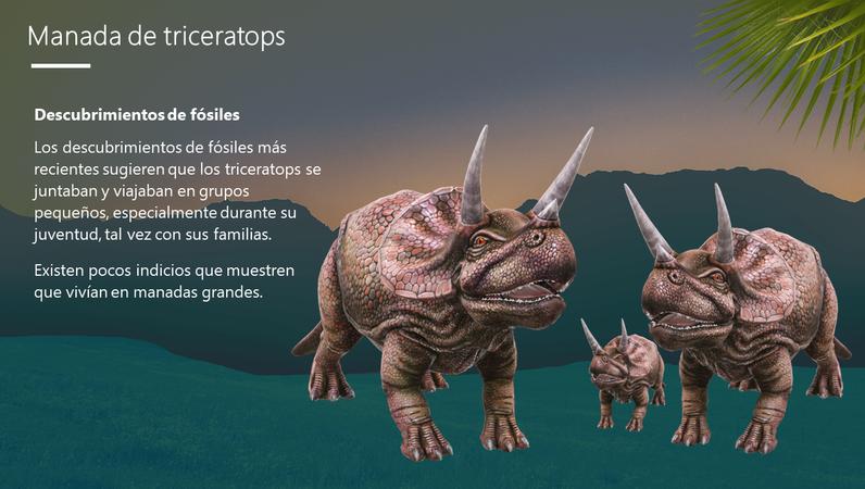 Triceratops: el dinosaurio con tres cuernos