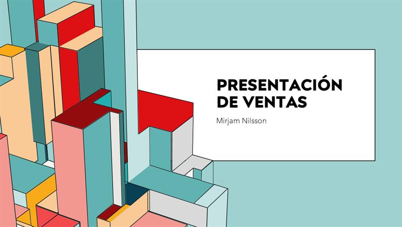 Plataforma de presentación de arquitectura