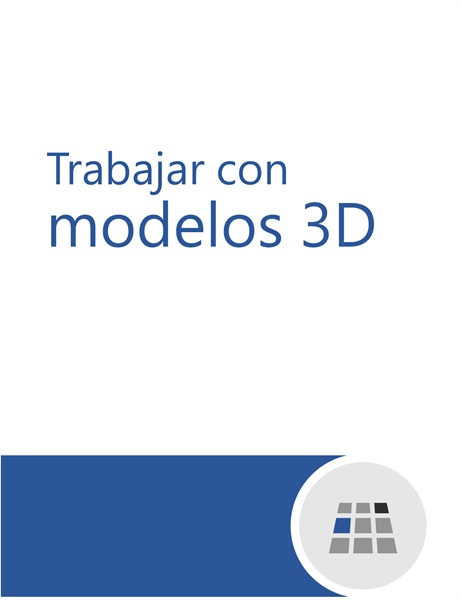 Cómo trabajar con modelos 3D en Word