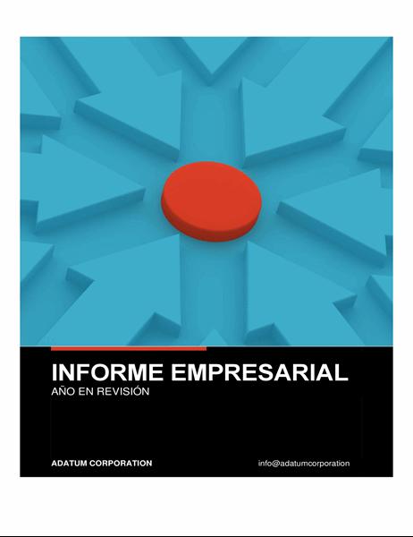 Informe empresarial audaz