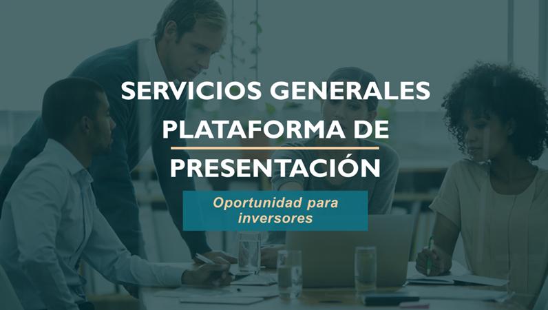 Plataforma de presentación de servicios profesionales