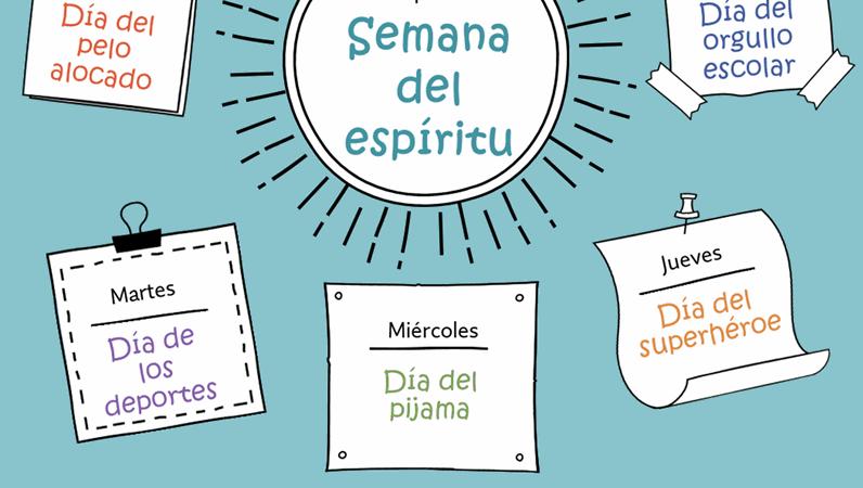 Calendario de la semana del espíritu