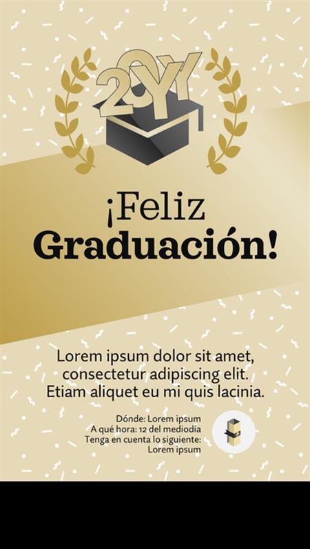 Imprimibles de fiesta de graduación