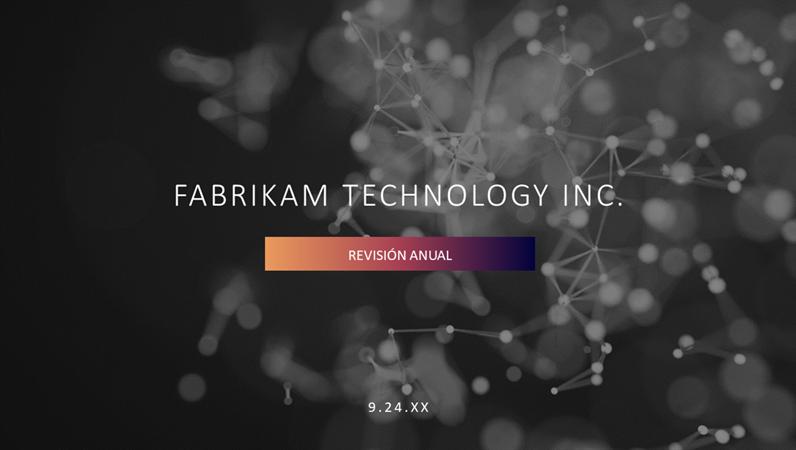 Presentación de tecnología