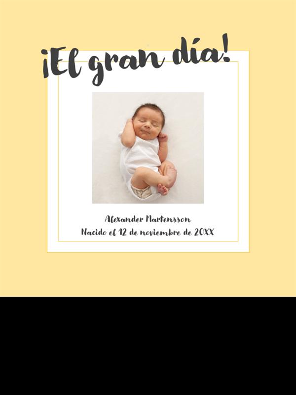 Álbum de fotos de etapas de bebé