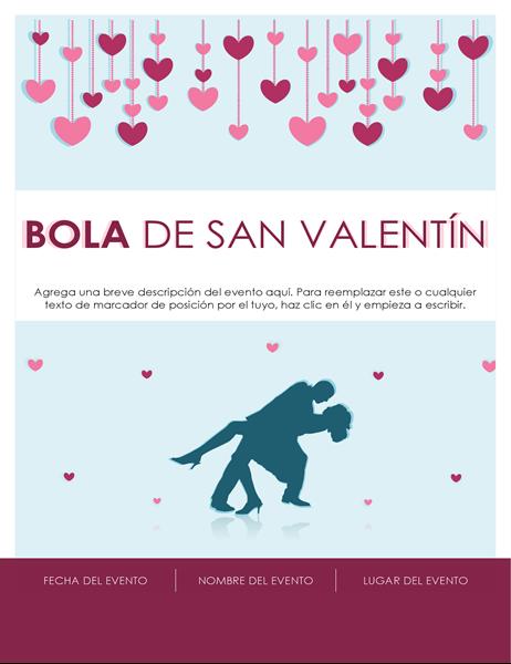 Folleto del día de San Valentín